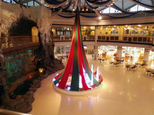 2014年度 クリスマス空間装飾 側面