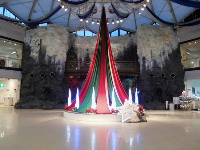 2014年度 クリスマス空間装飾 正面